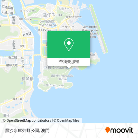 黑沙水庫郊野公園地圖