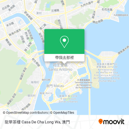 龍華茶樓 Casa De Cha Long Wa地圖