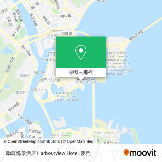 勵庭海景酒店 Harbourview Hotel地圖