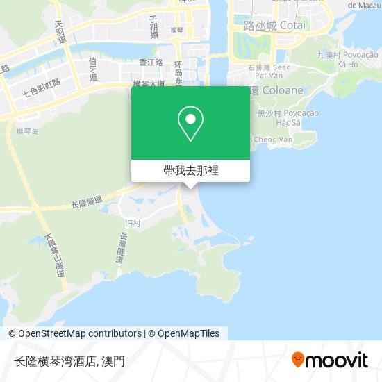 长隆横琴湾酒店地圖