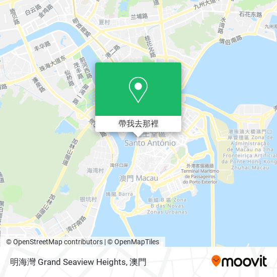 明海灣 Grand Seaview Heights地圖