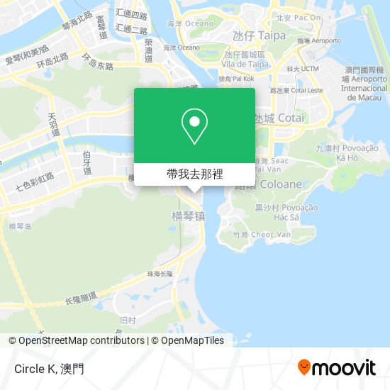 Ok便利店 Circle K地圖