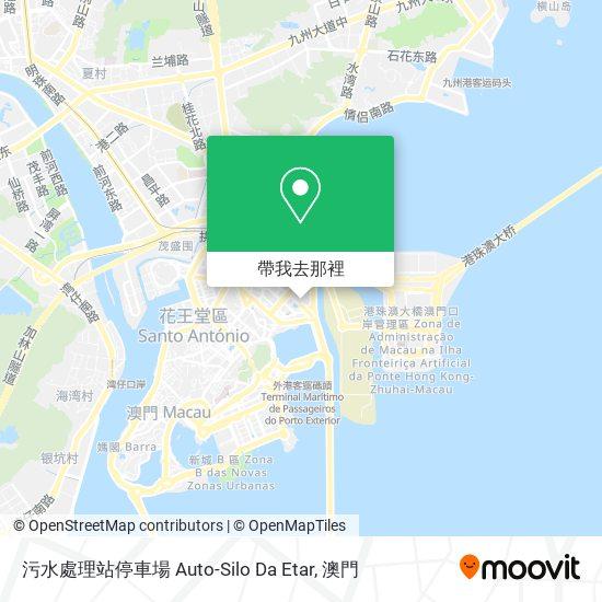 污水處理站停車場 Auto-Silo Da Etar地圖