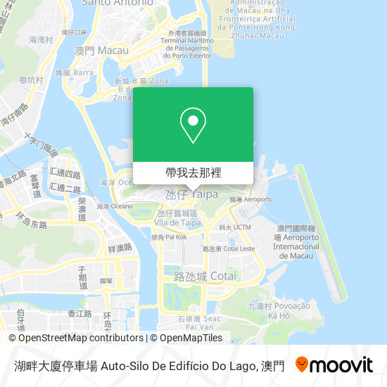湖畔大廈停車場 Auto-Silo De Edifício Do Lago地圖