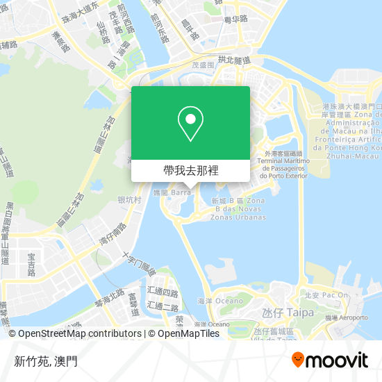 新竹苑地圖