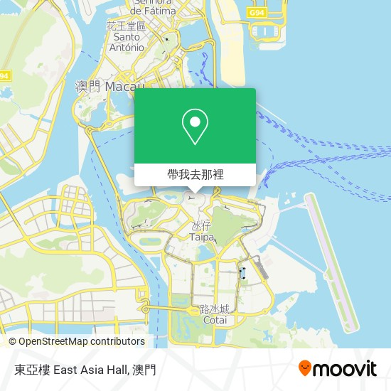 東亞樓 East Asia Hall地圖