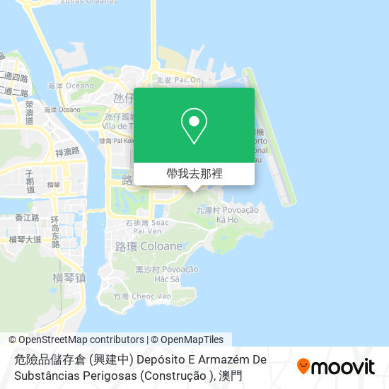 澳門青年挑戰福音戒毒中心 Associação Desafio Jovem Macau地圖