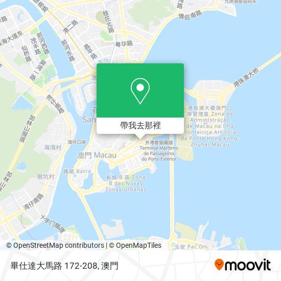 畢仕達大馬路 172-208地圖