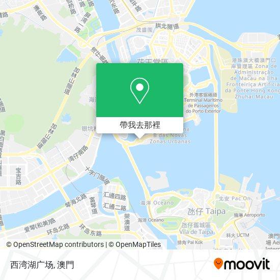 西湾湖广场地圖