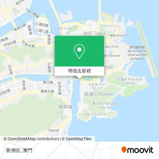 香洲区地圖