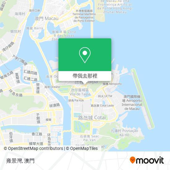 雍景灣地圖