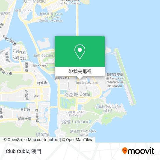 Club Cubic地圖