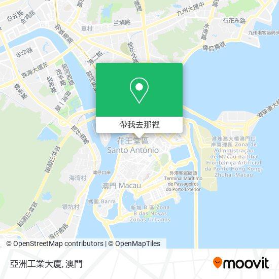 亞洲工業大廈地圖
