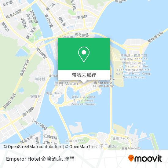Emperor Hotel 帝濠酒店地圖