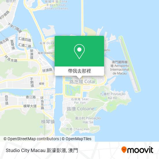 Studio City Macau 新濠影滙地圖