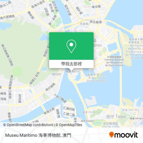 Museu Marítimo 海事博物館地圖