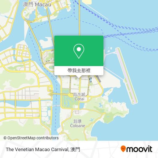 The Venetian Macao Carnival地圖