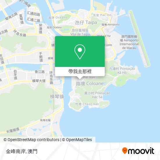 金峰南岸地圖