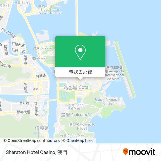 Sheraton Hotel Casino地圖