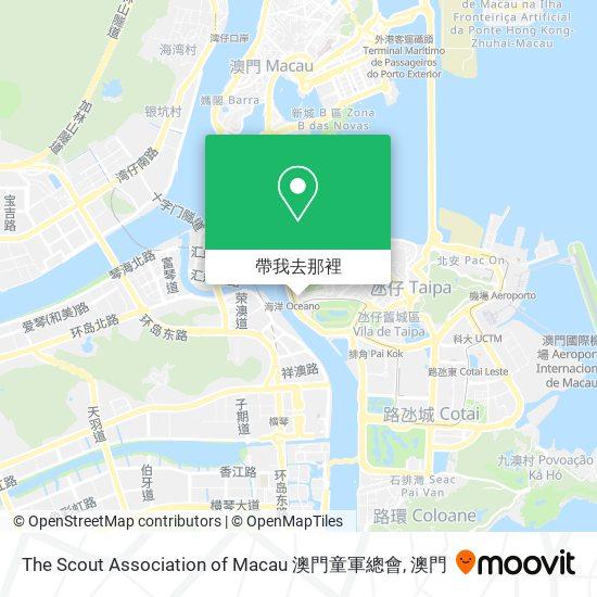 The Scout Association of Macau 澳門童軍總會地圖