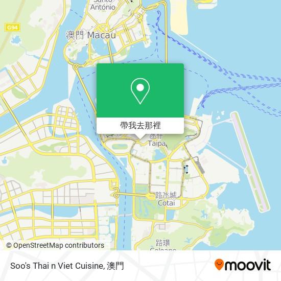 Soo's Thai n Viet Cuisine地圖