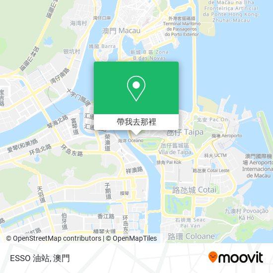 ESSO 油站地圖
