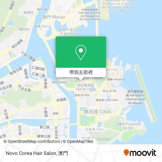 Novo Corea Hair Salon地圖
