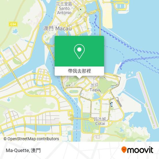 Ma-Quette地圖