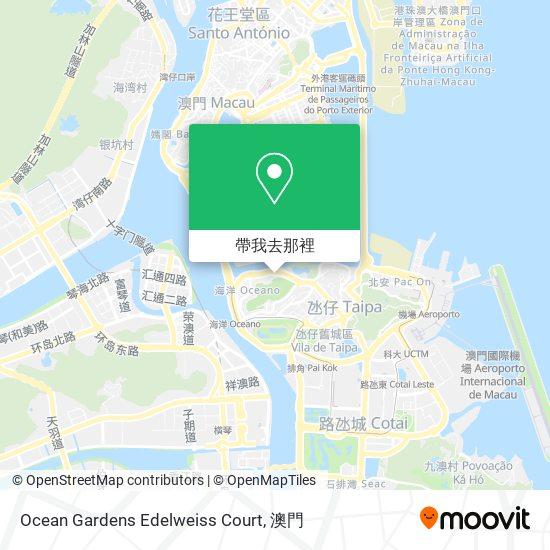 Ocean Gardens Edelweiss Court地圖