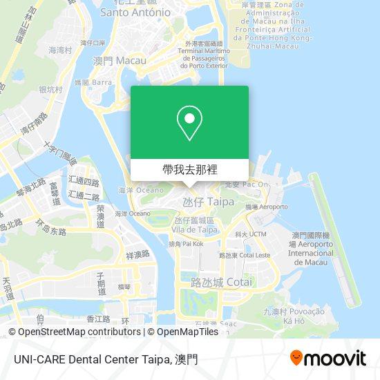UNI-CARE Dental Center Taipa地圖