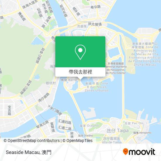 Seaside Macau地圖