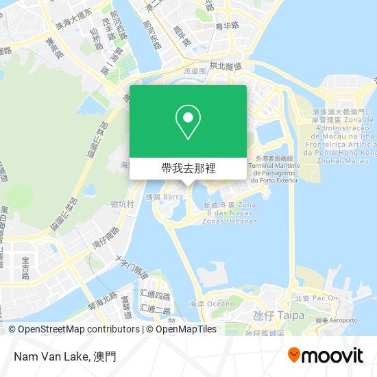 Nam Van Lake地圖