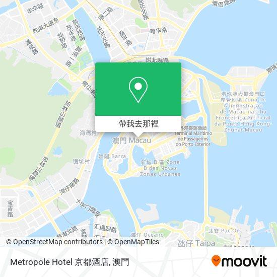 Metropole Hotel 京都酒店地圖