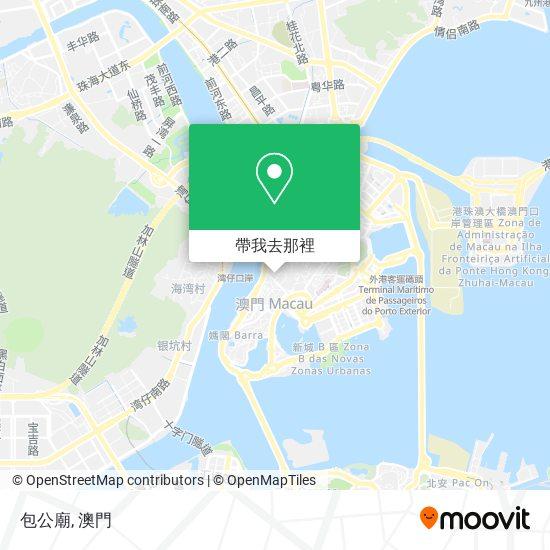 包公廟地圖