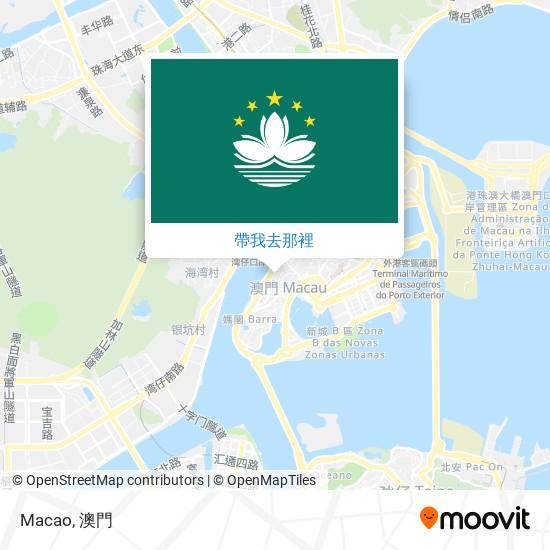 Macao地圖