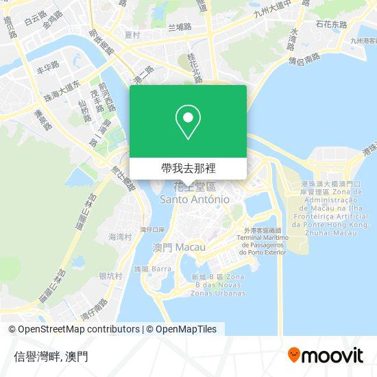 信譽灣畔地圖