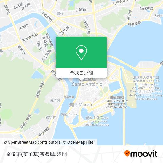 金多樂(筷子基)茶餐廳地圖