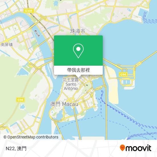 N22地圖