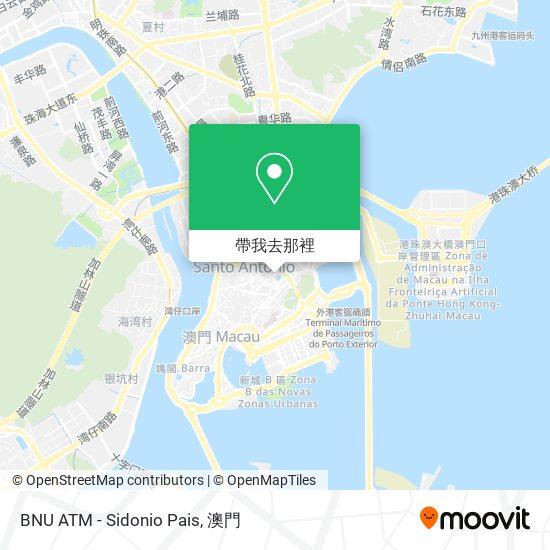 BNU ATM - Sidonio Pais地圖