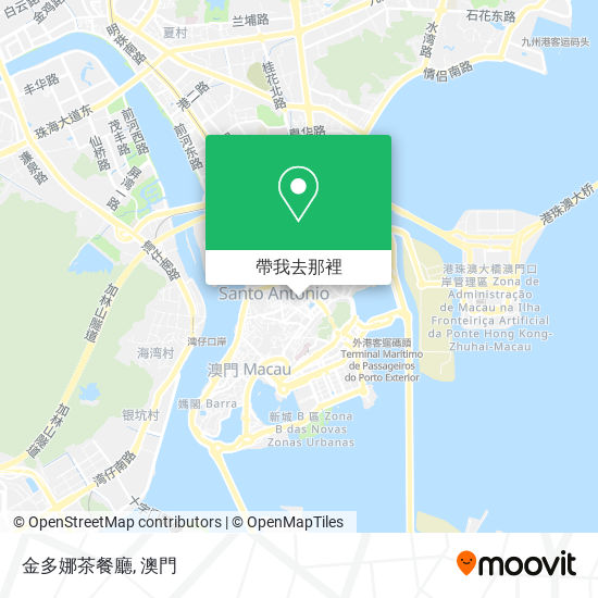 金多娜茶餐廳地圖