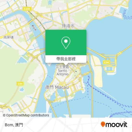 Bcm地圖