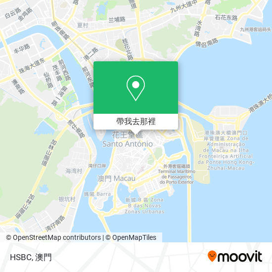 HSBC地圖