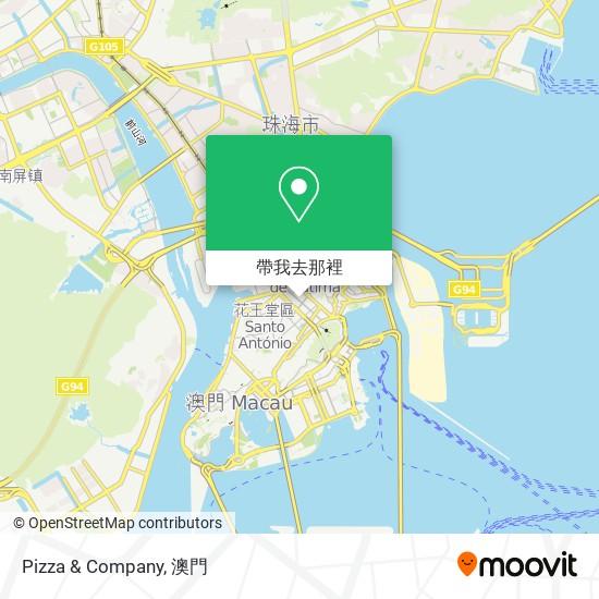 Pizza & Company地圖
