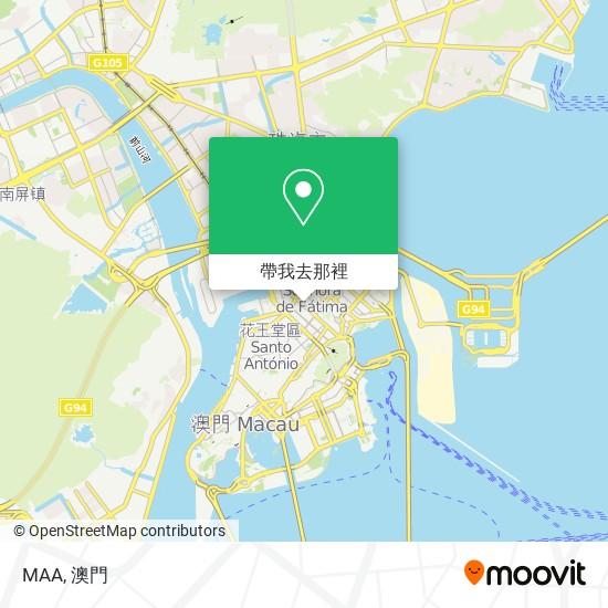 MAA地圖