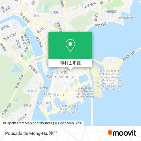Pousada de Mong-Ha地圖