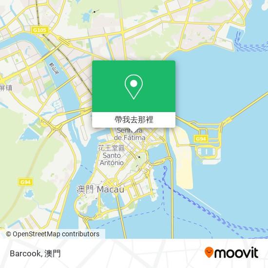 Barcook地圖