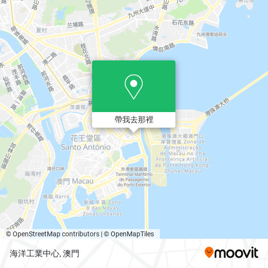 海洋工業中心地圖