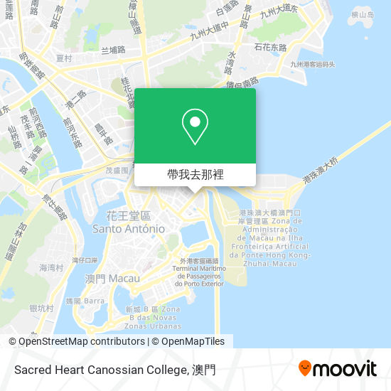 Sacred Heart Canossian College地圖