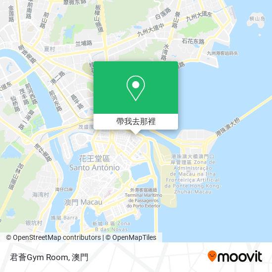 君薈Gym Room地圖