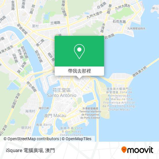 iSquare 電腦廣場地圖